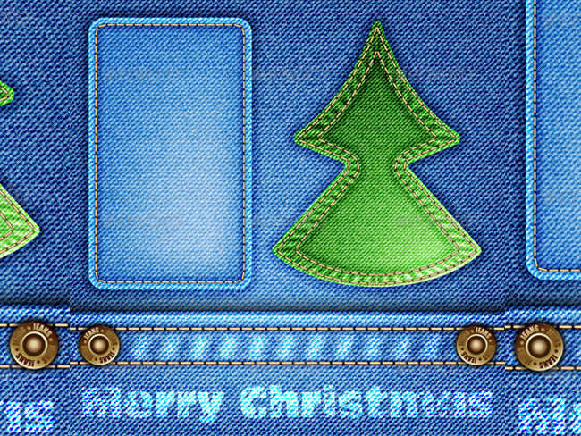 christmas-jeans-cloth-texture