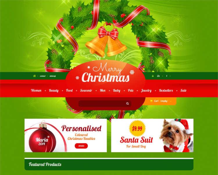christmas-prestashop-website-template