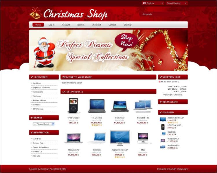 christmas-shopping-website-template