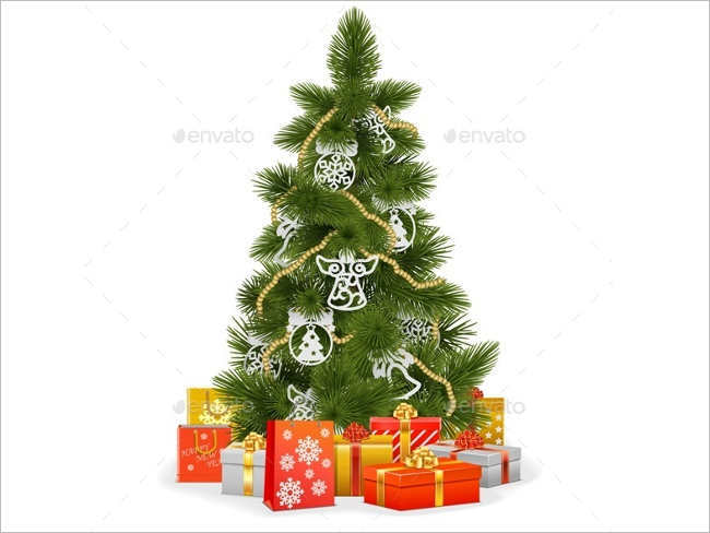 25 christmas paper decoration ideas free design templates Sample christmas tree decorating ideas