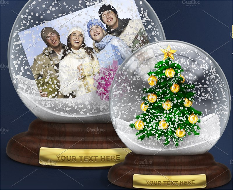 Christmas Tree Toy Mockup Design