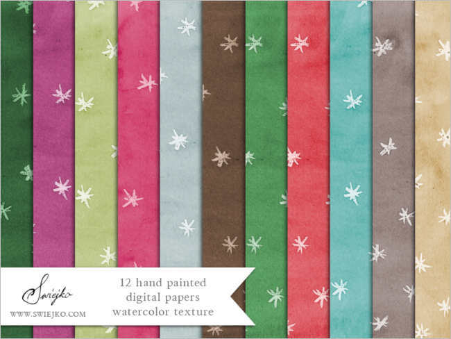 christmas-water-colour-paper