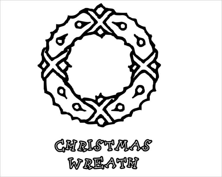 Christmas Wealth Templates for print
