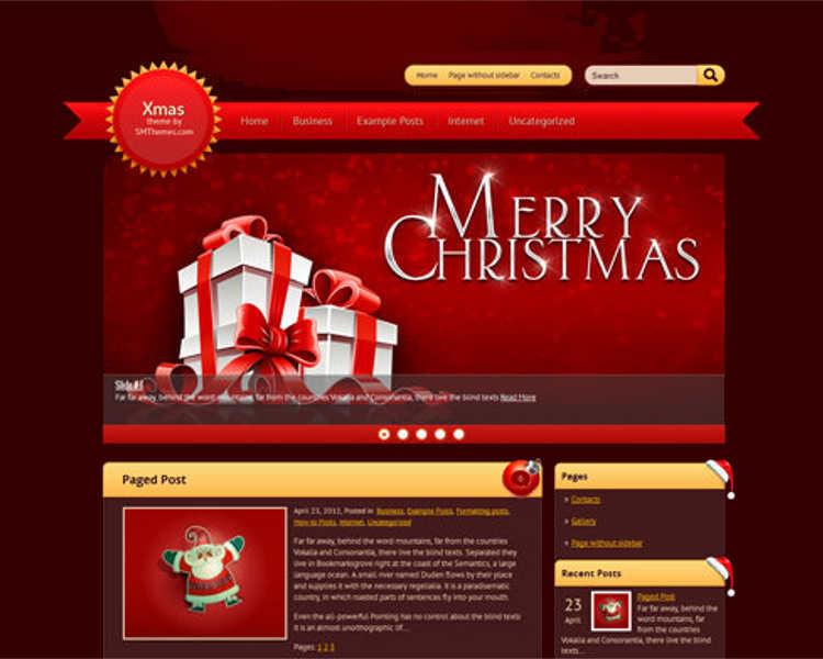 christmas-wordpress-webaite-template