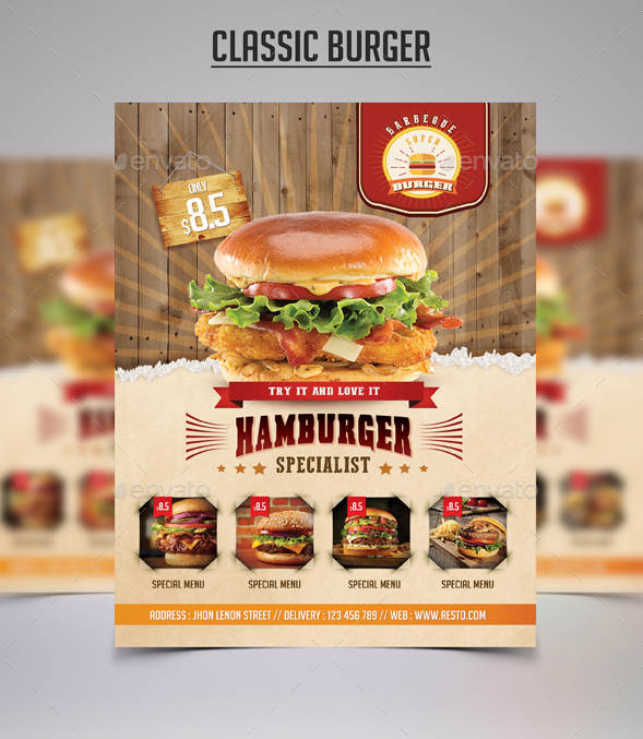 classic-vintage-burger-promo