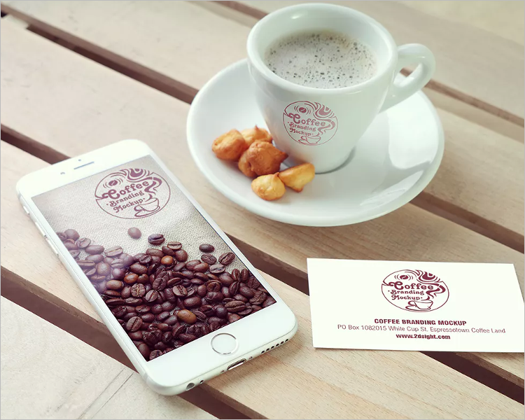 Coffee Branding Mockup Design Template