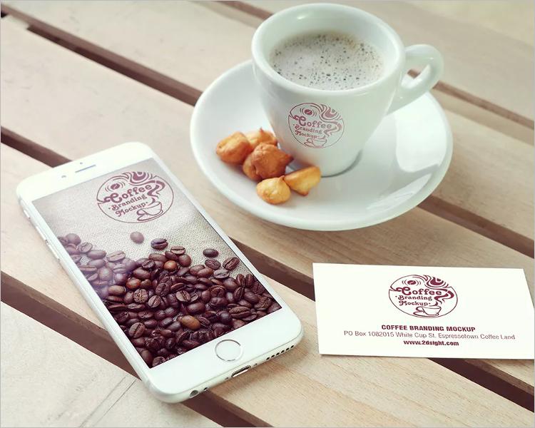 Coffee Branding Mockup Design Template
