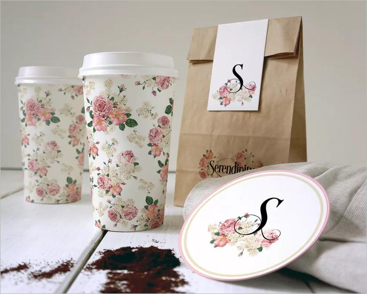 Coffee Branding PSD Mockup Template