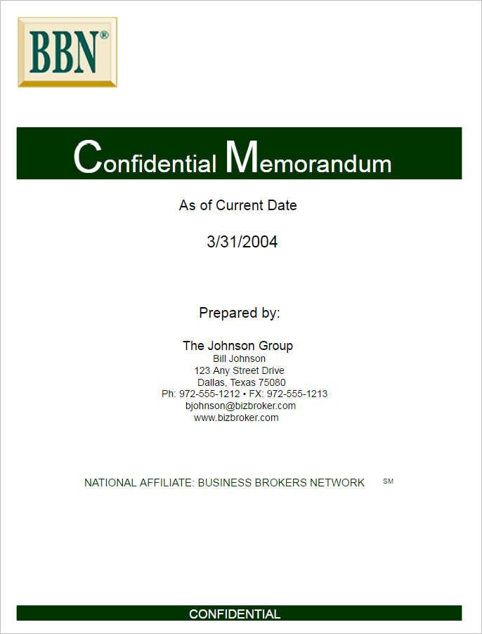 confidential-memo-template-form