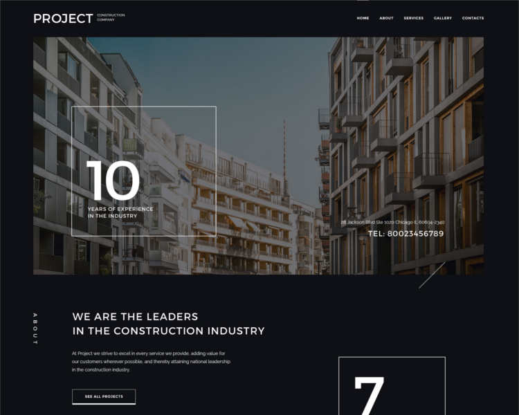 construction-project-html5-website-template