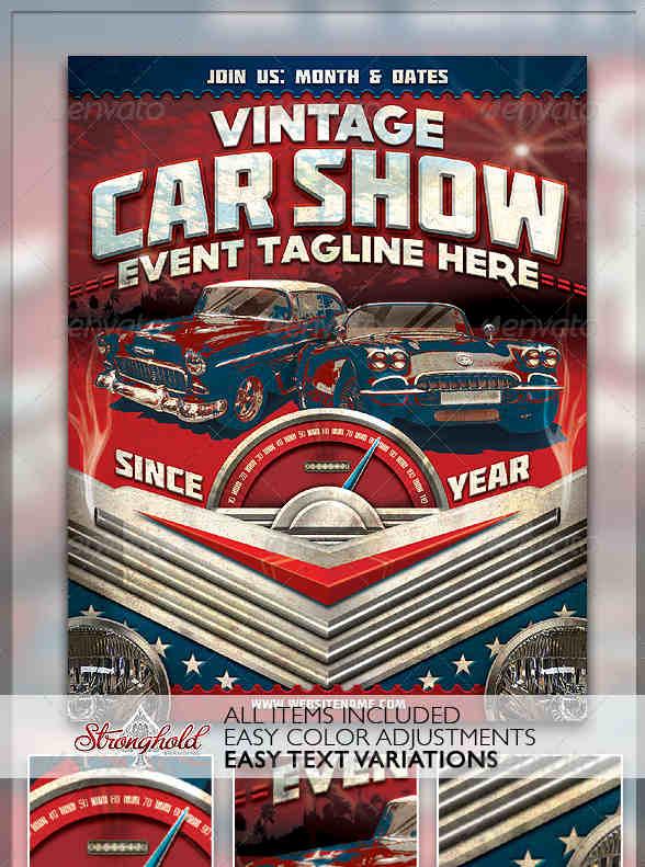 convertible-car-show-flyer