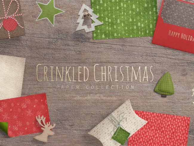crinkled-christmas-decoration-ideas