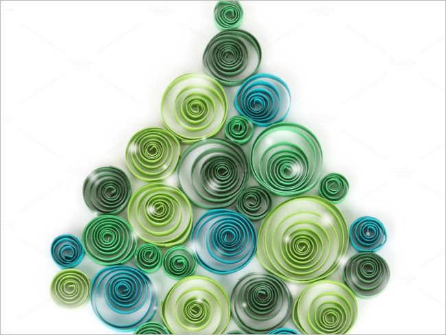 curling-christmas-paper-decorative-ideas