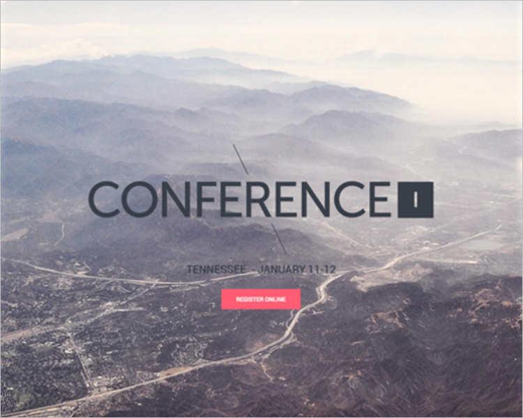 customizable-event-website-template