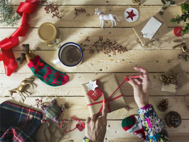 decoration-of-christmas-presents