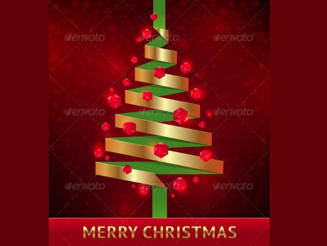 decorative-paper-christmas-tree-ideas