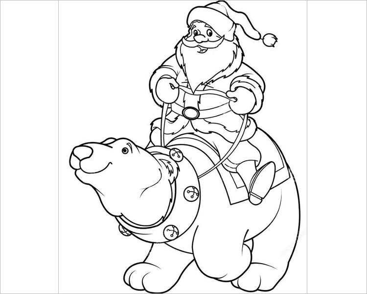 download-happy-christmas-santa-template
