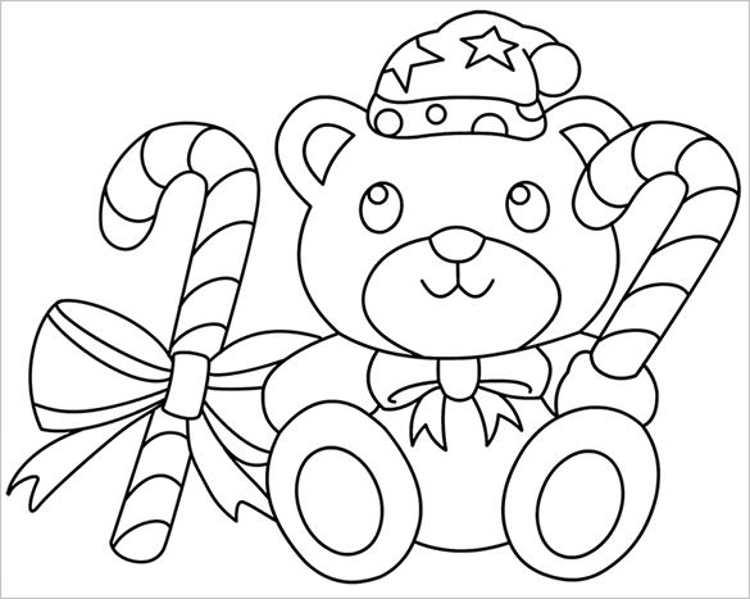 download-premium-cute-christmas-bear-template