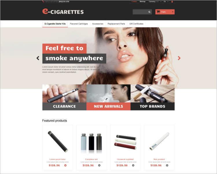 e-cigarettes-prestashop-them-template