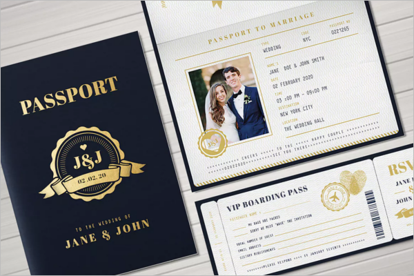 Editable Passport Printable Templates
