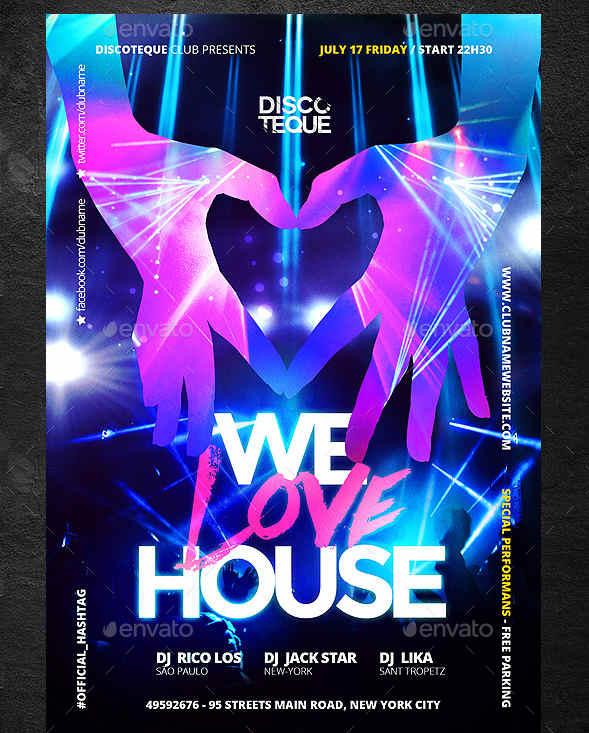 electro-party-clique-flyer