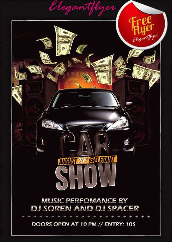 Car Show Flyer Free Premium and Download – Car Flyers