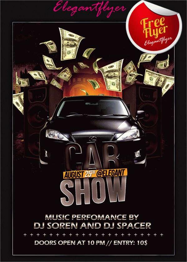 elegant-car-show-flyer