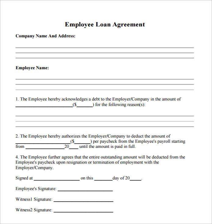 employee-loan-agreement-template-form