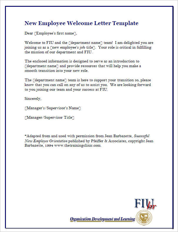 employee-welcome-letter-form-template