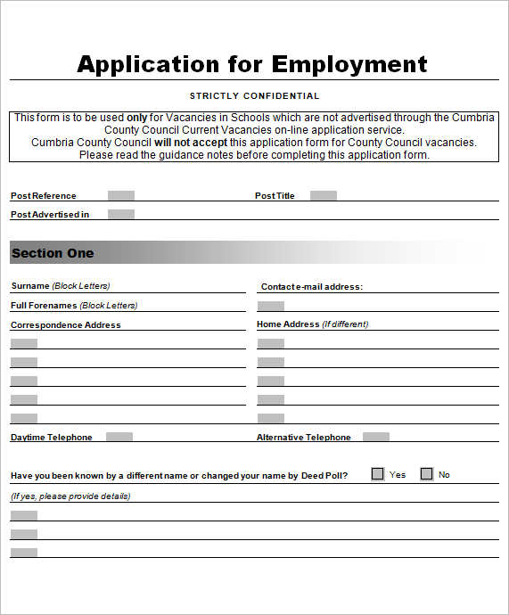 employment-application-letter-format-template