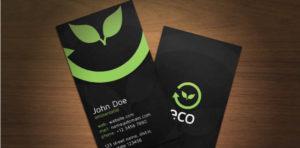 environment-business-card-template