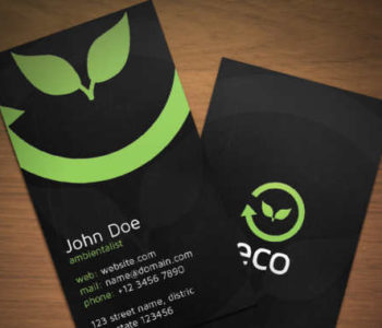 Environment Business Card Templates