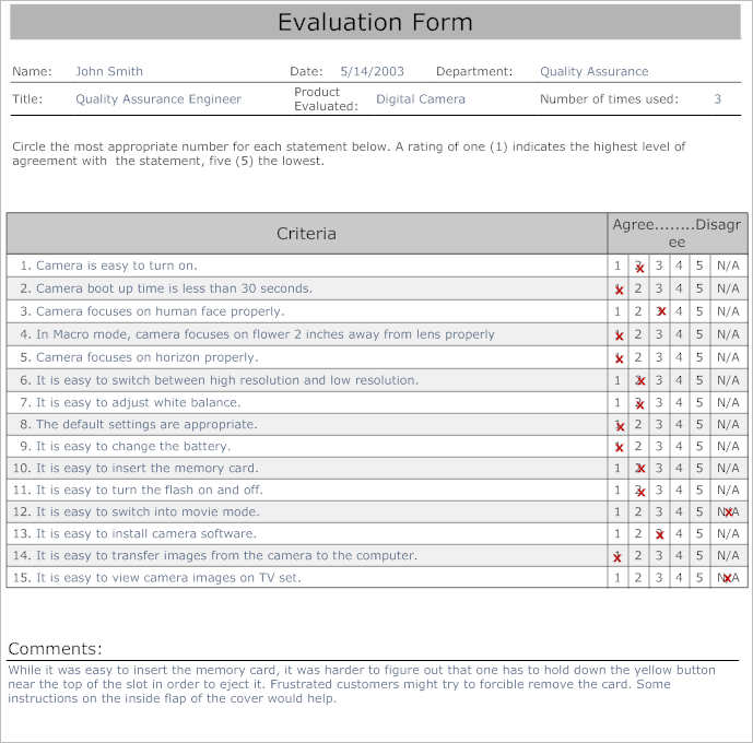 31 employee evaluation form templates free word excel examples. Black Bedroom Furniture Sets. Home Design Ideas