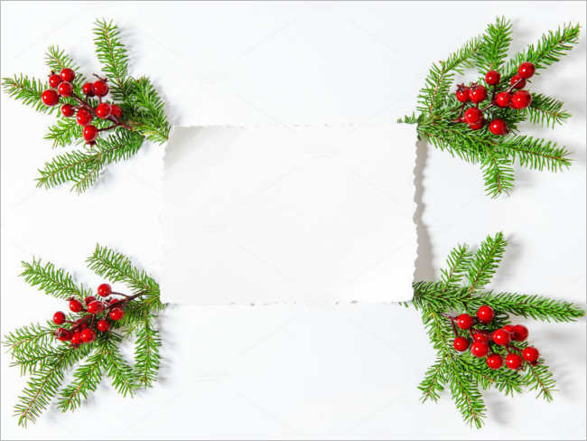 evergreen-christmas-paper-decorative-ideas