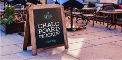23+ ChalkBoard Mockup PSD Templates