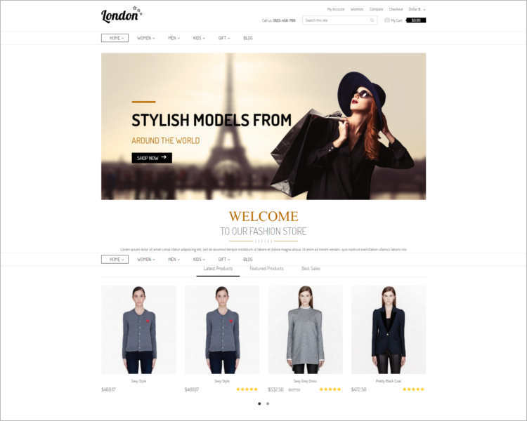 fashion-prestashop-theme-templates