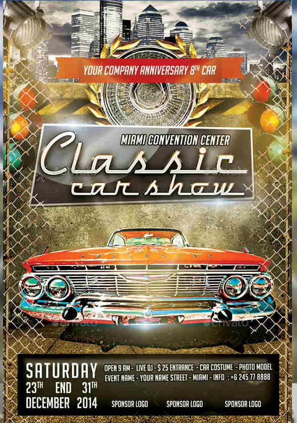 festival-car-show-flyer