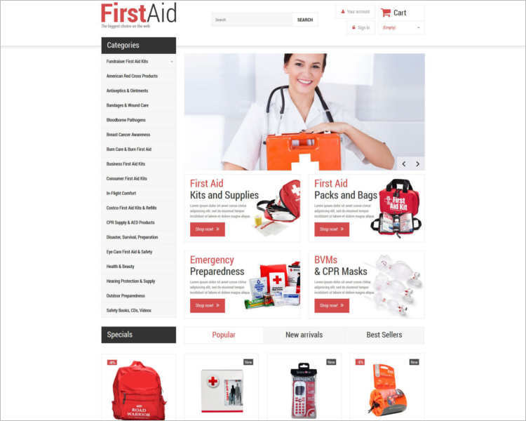 firstaid-business-services-prestashop-templates