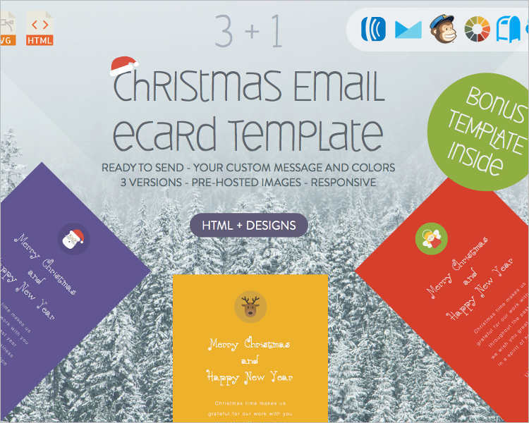 free-christmas-email-template