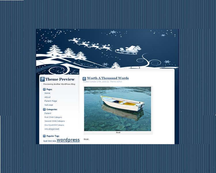 free-christmas-wordpress-website-theme-template