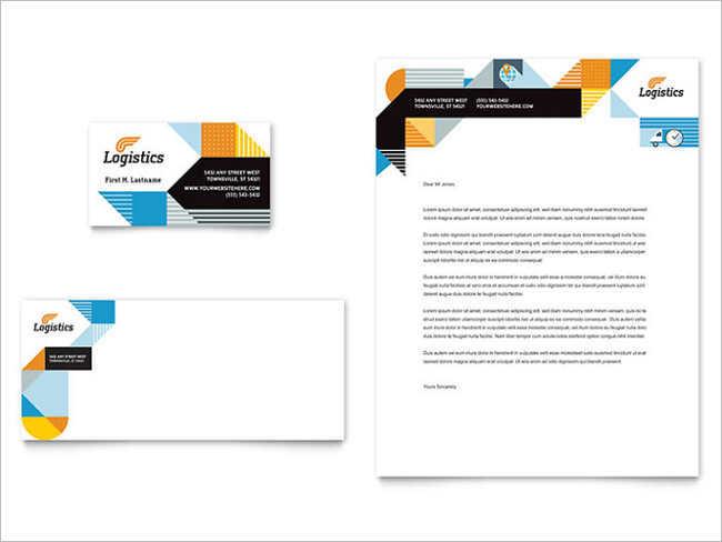 free-logistics-business-card-templates