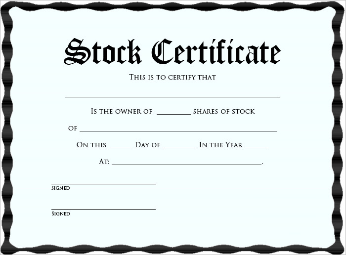 free-stock-certificate-template