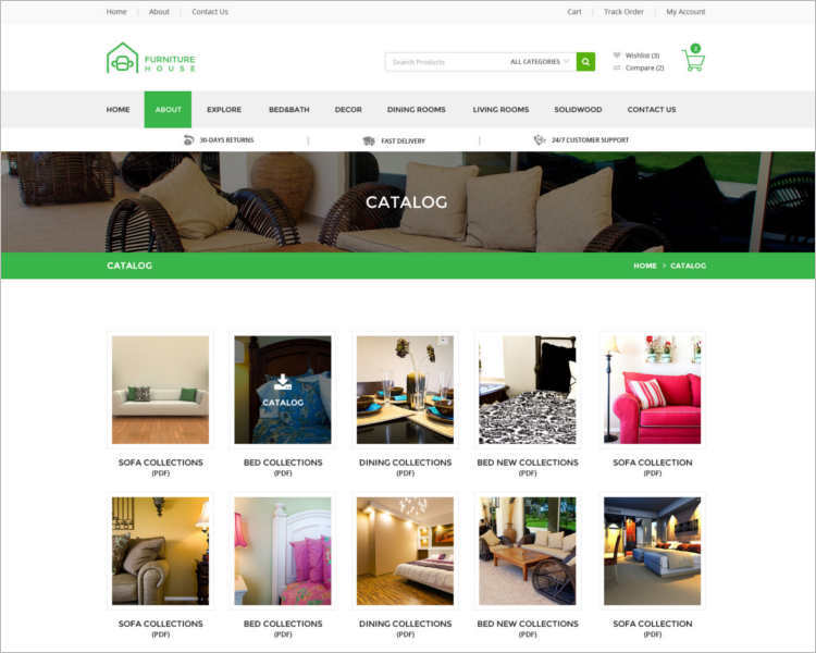 funiture-house-php-templates