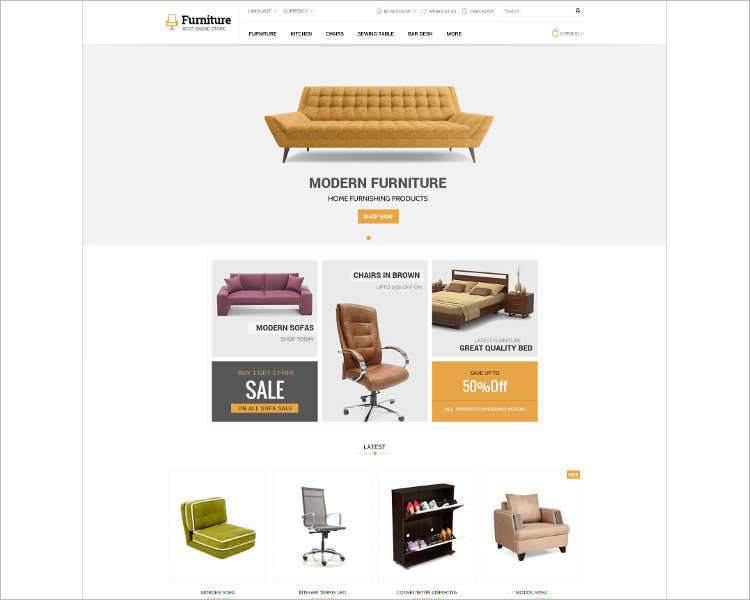 furniture-opencart-responsive-php-theme