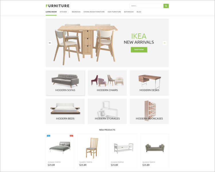 furniture-store-prestashop-theme-template