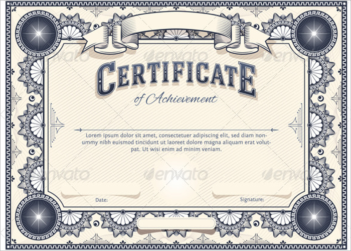 Gift Stock Certificate Template