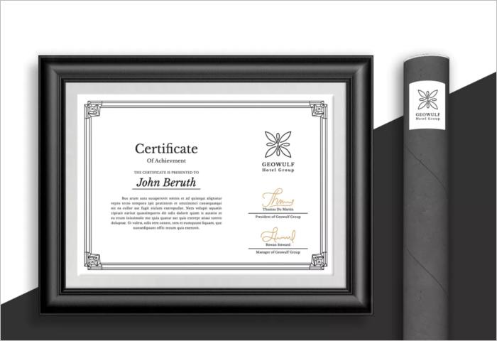 Google Stock Certificate Template