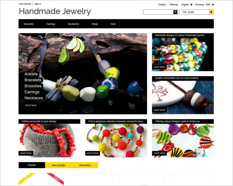 handmade-jewelry-theme-template