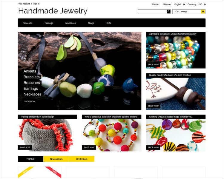 handmade-jewelry-theme-template