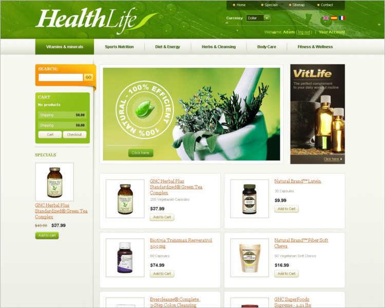 health-life-products-prestashop-them-template